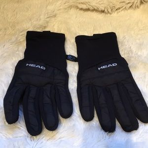 HEAD fleece gloves for men's small
